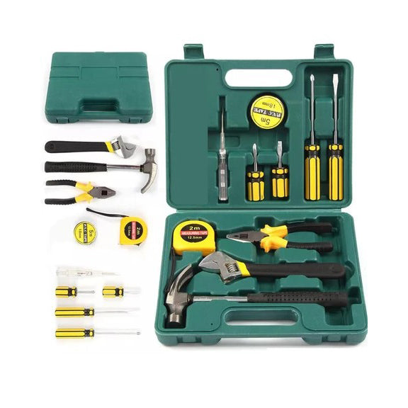 12 Piece Set Home Repair Tool Box Kit | 24hours.pk