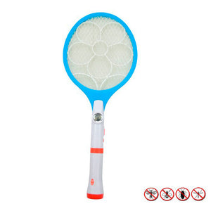 Electric LED Bug Fly Mosquito Zapper Swatter 2 In 1 | 24HOURS.PK