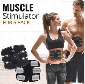Muscle Stimulation 6 Pack Mobile Gym EMS Fitness Machines | 24HOURS.PK
