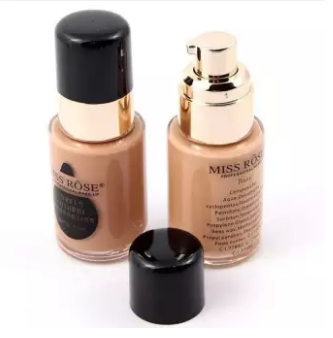 Miss Rose Professional Makeup Matte Liquid Foundation Natural - All Shades
