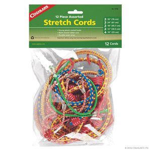 Coghlan's 12 Piece Assorted Stretch Cords 9750 | 24hours.pk