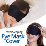 Eye Mask Cover Shade Blindfold Sleeping Sleep Rest Relax Eyemask Masks Travel | 24hours.pk