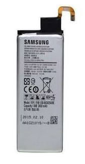 Samsung S6 Edge Original Battery - 2600mah - Silver