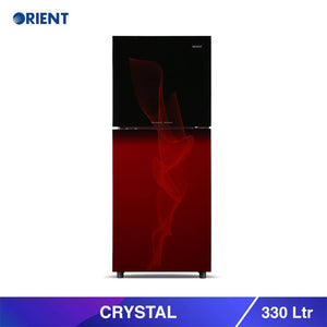 Orient Crystal 330 Liters Refrigerator 13 Cubic (Only For Karachi) | 24HOURS.PK