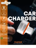 New FASTER FCC-IQ4 Turbo 6.4A & Qualcomm Quick Charge 3.0A Car Charger