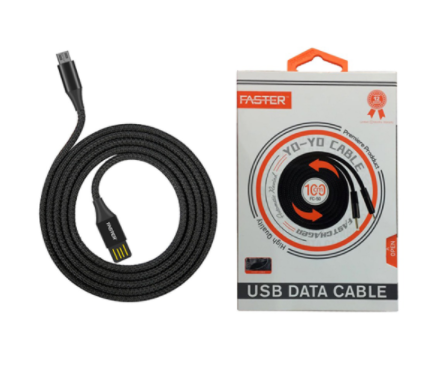 FASTER FC-50 Yo-Yo Fast Charge Data Cable 2.0A For Android