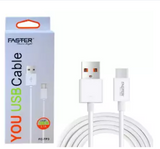 Faster Type C data cable FC-TP3 - White