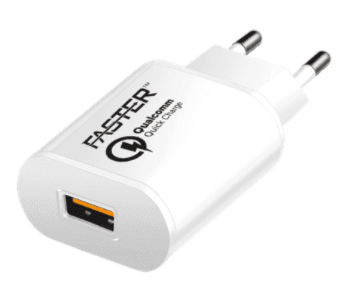Faster FC-99 Qualcomm Quick Travel Charger 3.0A White