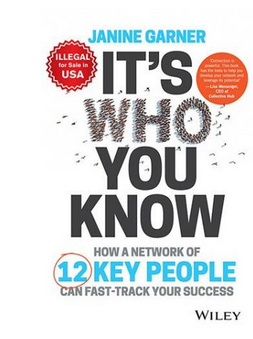 It's Who You Know: How a Network of 12 Key People Can Fast-track Your Success (PB) By: Janine Garner