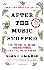 After the Muc Stopped The Financial Cris the Response and the Work Ahead  (PB) By: Alan S Blinder