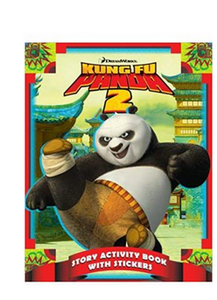 Kung Fu Panda 2 Story Activity Book With Stickers  (PB) By: Cathy Hapka