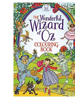 The Wonderful Wizard of Oz Colouring Book (PB) By: Ann Kronheimer