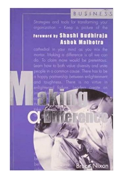 Making a Difference (PB) By: Bruce Nixon