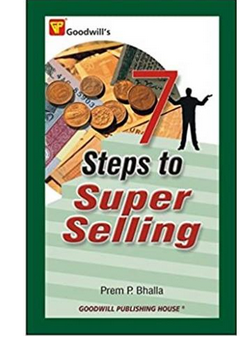 7 Steps to Super Selling  (PB) By: Prem P. Bhalla