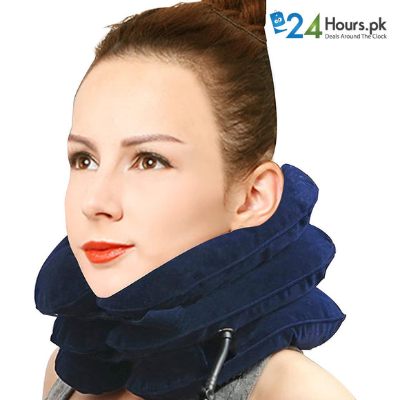Inflatable Cervical Neck Traction Device Improve Spine Alignment Reduce Neck Pain Cervical Collar Adjustable
