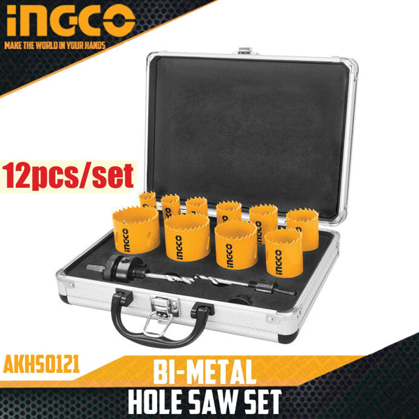 Bi-metal Hole Saw Set AKH0121 | 24hours.pk