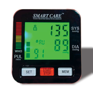 Smart care Blood Pressure Monitor | 24hours.pk