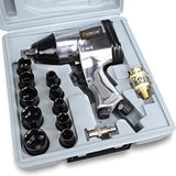 "Hoteche 17Pcs 1/2"" Air Impact Wrench Kit  A830112 