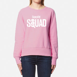 Suicide Squad Winter Sweatshirt For Unisex - Pink | 24hours.pk