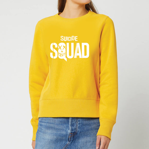Suicide Squad Winter Sweatshirt For Unisex - Yellow | 24hours.pk