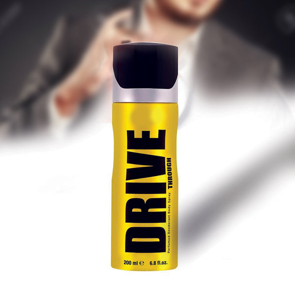 HAVEX DRIVE THROUGH PERFUMED DEODORANT BODY SPRAY FOR MEN 200 ML | 24hours.pk