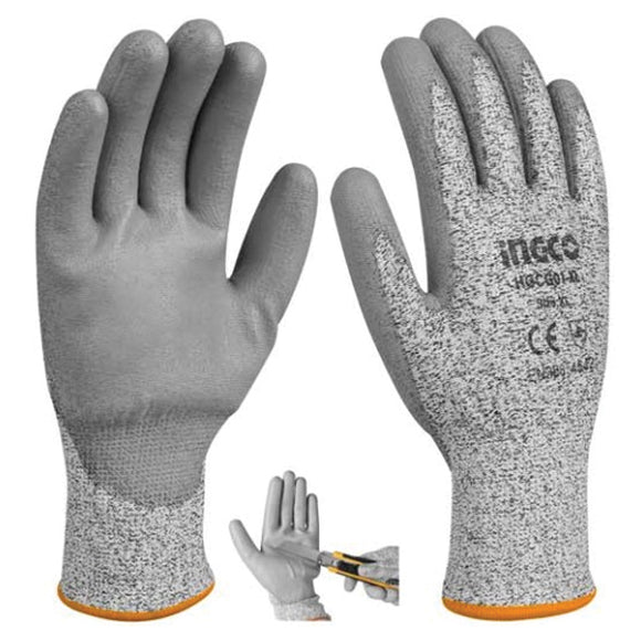 Cut-Resistance Gloves HGCG01-L | 24hours.pk