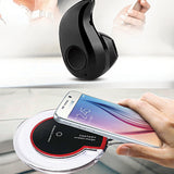 Pack of 2 Fantasy Wireless Charger And Spark S530 Mini Bluetooth Headset | 24HOURS.PK