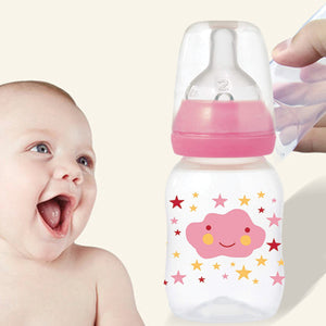 Tgex 110 ML Plastic Feeding Bottle with Silicone Teat | 24HOURS.PK