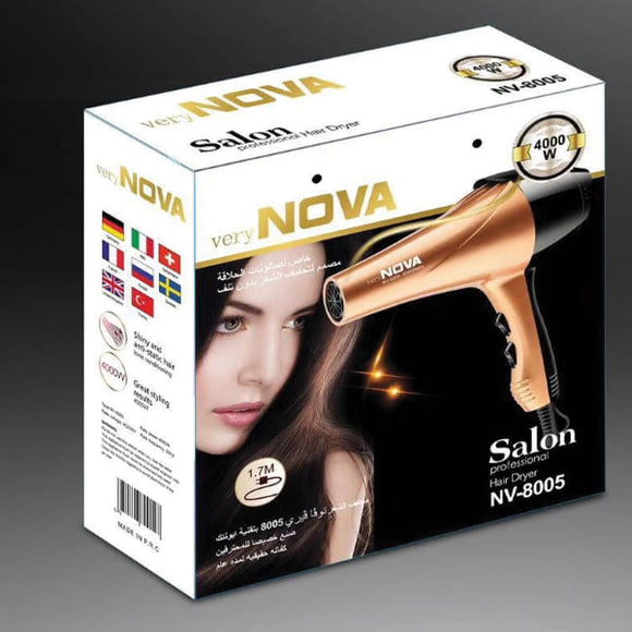 Nova Professional Hair Dryer NV-8005 | 24HOURS.PK