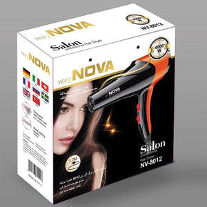 Nova Professional Hair Dryer NV-8012 | 24HOURS.PK