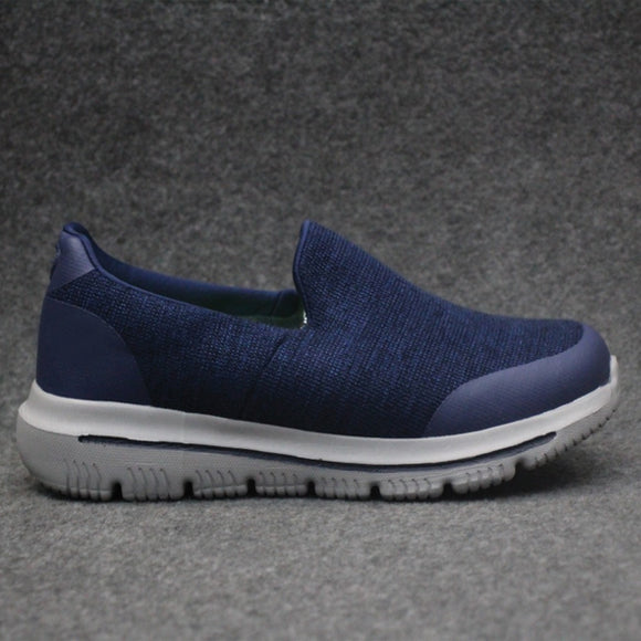 Slip On Shoes For Men's Blue & White | 24HOURS.PK