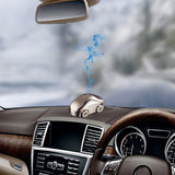 Metallic Car Shaped Car Fragrance Air Freshener Car Dashboard Perfume CMO-0-18 | 24hours.pk