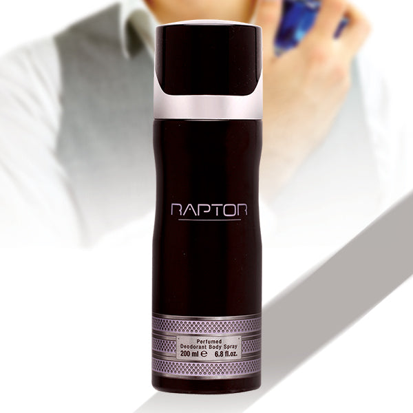 HAVEX RAPTOR PERFUMED DEODORANT BODY SPRAY FOR MEN 200 ML | 24hours.pk