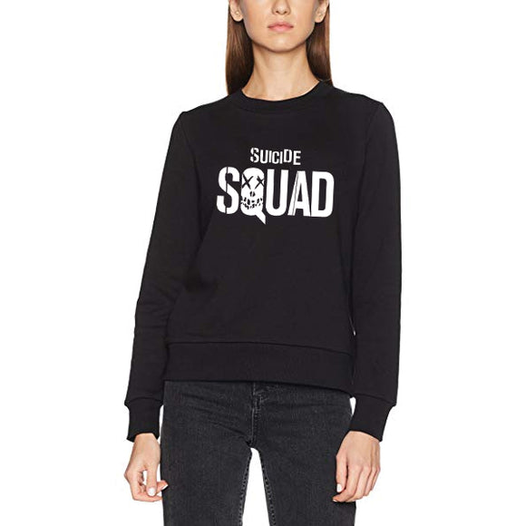 Suicide Squad Winter Sweatshirt For Unisex - Black | 24hours.pk