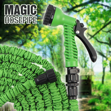 Expandable Magic Hosepipe - Garden Water Pipe (100 ft) | 24HOURS.PK