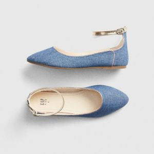 Gap Golden Strap Pumpies Shoes