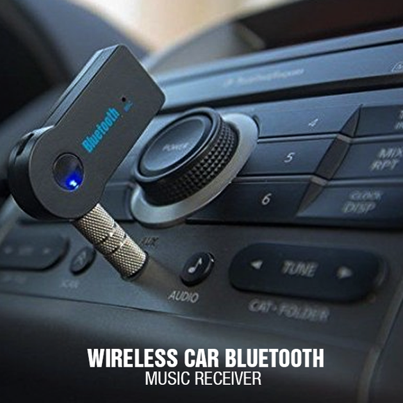 Wireless Car Bluetooth Music Receiver	(0055) | 24HOURS.PK