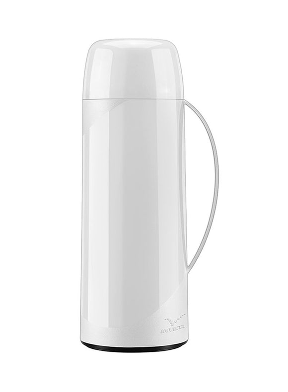 INVICTA FIRENZE VACUUM BOTTLE 1L WHITE 6 101800010107