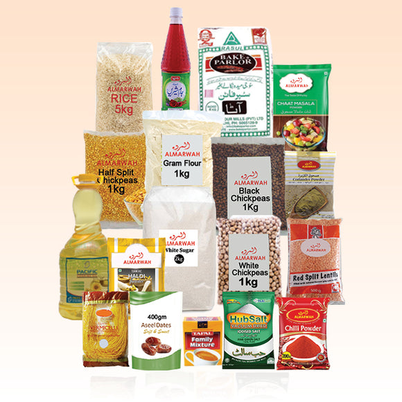 Pack of 18 Platinum Home Grocery Package For Home (Only For Karachi) 7232