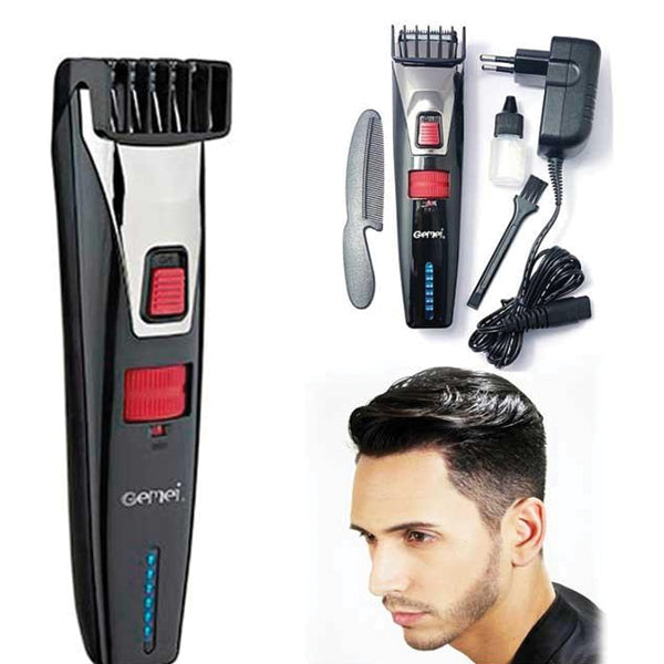 Gemei Washable Hair Beard Trimmer GM-728 0223 | 24hours.pk