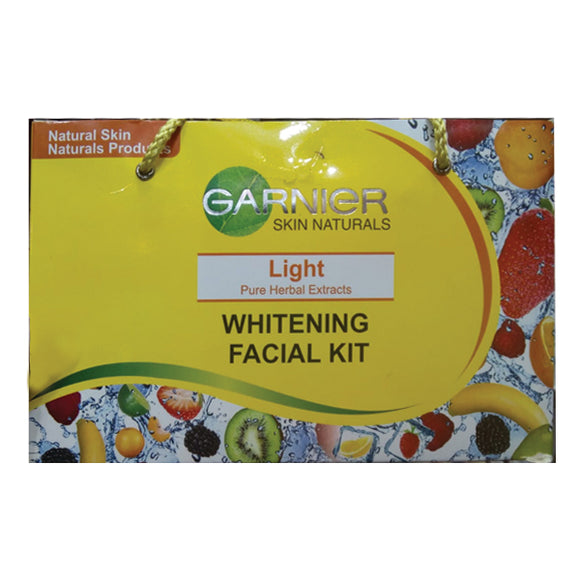 Garnier Skin Naturals Lights Pure Herbal Extracts Whitening Facial Kit