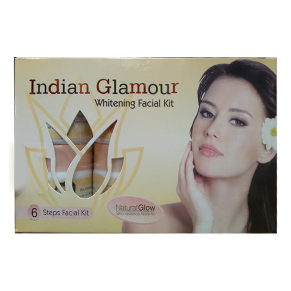 Indian Glamour Facial Kit Natural Glow Skin Radiance Facial Kit