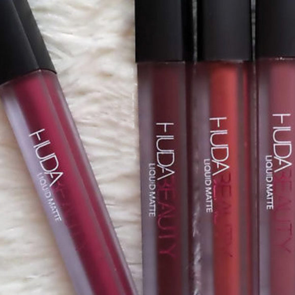 Huda Beauty Liquid Matte Lipstick Set of 12