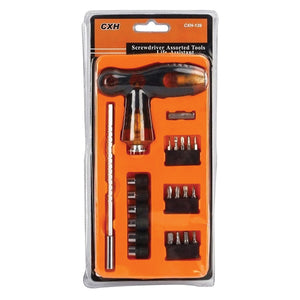 CXH139 22 PCS Drill and Screwdriver Set | 24hours.pk