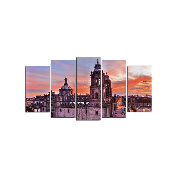 Summer In Mexico City  5 Pcs 3d Wall Frame AJ-011 | Framerstore.com