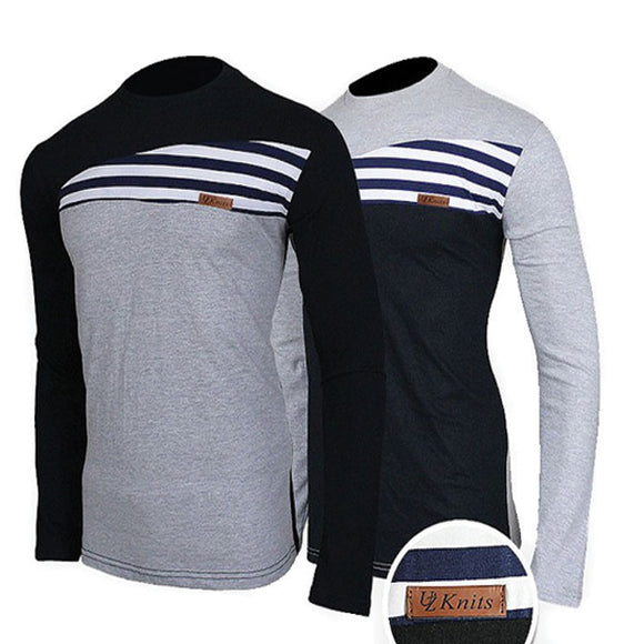 Pack of 2 Knits Full Sleeves T-Shirts 00190 | 24hours.pk