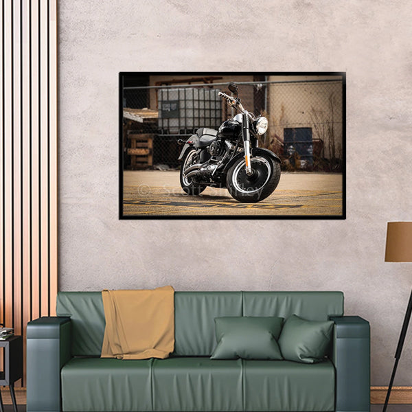 Best Harley Super Bike Single 3d Landscape Wall Frame AJ-020