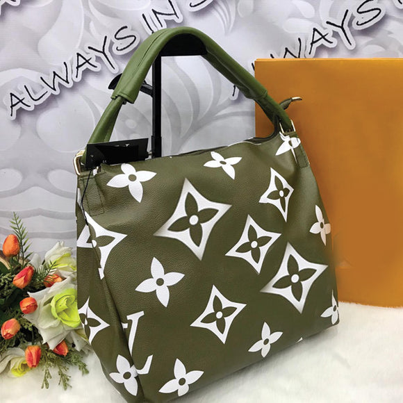 HIGH QUALITY BIG SIZE BAG FOR WOMEN'S GREEN