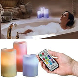 Color Changing Flameless Luma Candles (Random Colors) | 24HOURS.PK