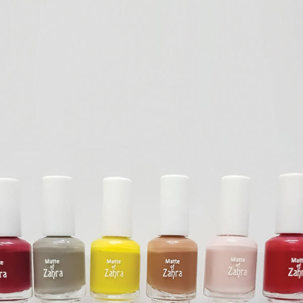 Set of 12pcs Multicolors Shades Nail Polishes For Her